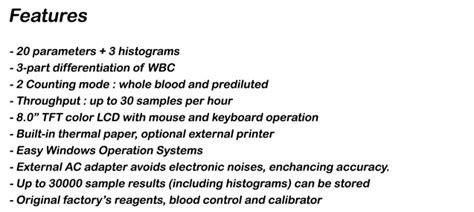 Alat Hematology Wp 330 hematology wp 330 onelab medika