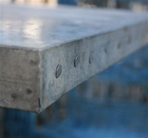 galvanized table top 25 best ideas about galvanized steel on