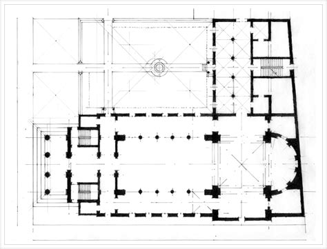 traditional church floor plans church musings of architecture