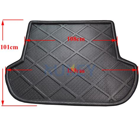 subaru outback cargo liner fit for 2010 2014 subaru outback rear trunk mat boot liner