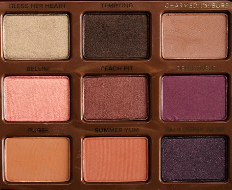 Faced Palette faced sweet eyeshadow palette review photos swatches