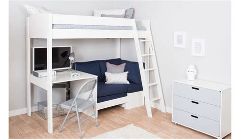 bed frame with desk mi zone h4 high sleeper bed frame desk corner sofa