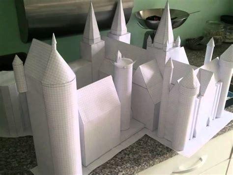Hogwarts Papercraft - poudlard hogwarts en 3d papercraft my crafts and diy