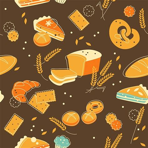 food pattern background tumblr food seamless backgrounds in vintage style on behance