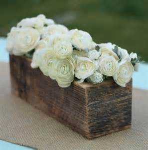 wooden boxes for centerpieces 1000 images about rustic wedding theme on