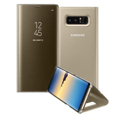 Cover Note 8 Official Samsung Galaxy Note 8 Clear View Standing Cover