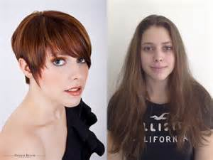 before and after hairstyles for 50 before haircut bing images