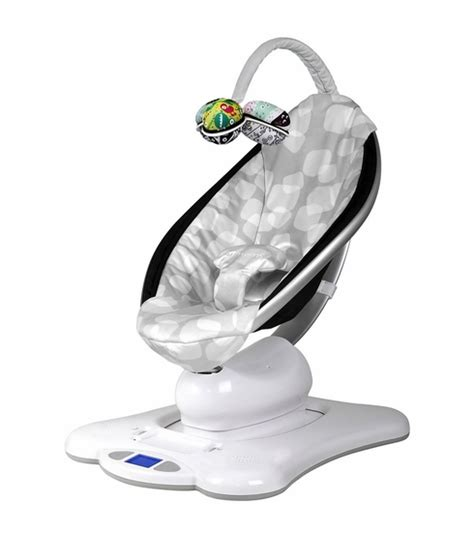 best baby moving chair 4moms mamaroo plush silver pram