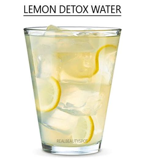 Lemon Water Detox by Detox Waters Detoxify Your And Indian On