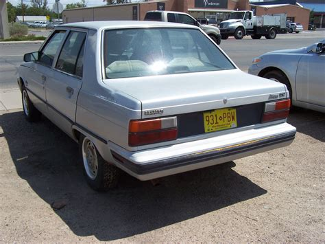 renault alliance curbside classic 1986 renault alliance patina royale