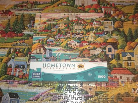 Kitchen Collection Stores Mega Hometown Collection Jigsaw Puzzle Heronim Wysocki
