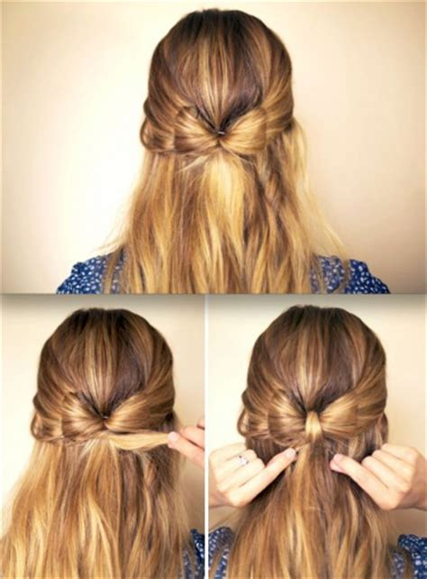 hairstyles cute bow bow hairdo ideas for girls nationtrendz com