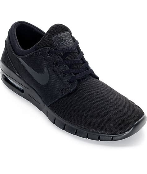 Sepatu Nike Stefan Janoski nike sb stefan janoski max black and anthracite mesh shoes at zumiez pdp