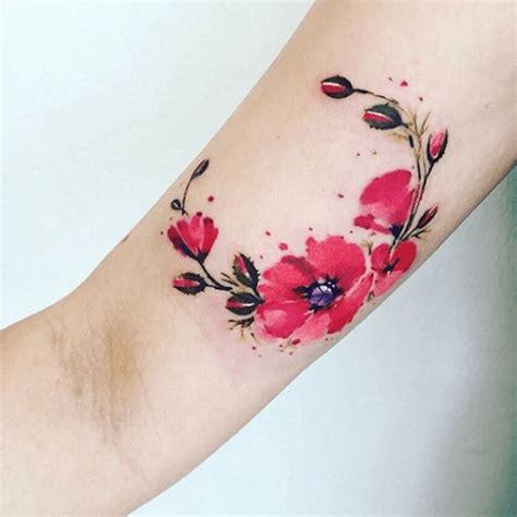 tatouage coquelicot le pavot sauvage tattoome le