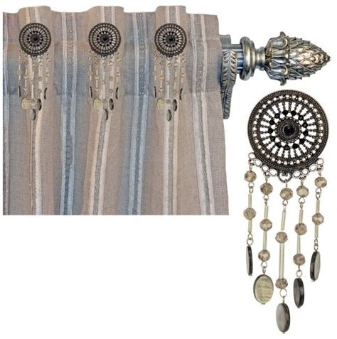 bling curtain rods christy curtain bling