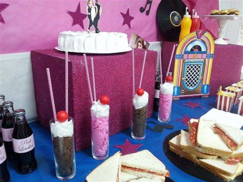 grease themed decorations grease birthday ideas photo 8 of 14 catch my