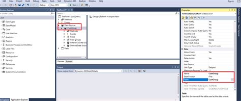 Form Design Properties In Ax 2012 | how to create list page form in dynamics 365