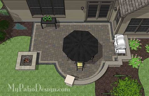 corner patio design for 6 quot l quot shaped homes mypatiodesign com mypatiodesign com