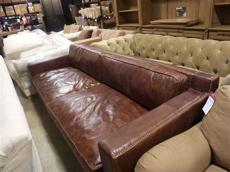 restoration hardware leather sofa knockoff restoration hardware knock off sofa restoration hardware