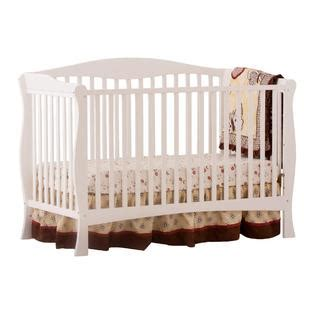 Storkcraft Baby Crib Replacement Parts by Storkcraft Savona Fixed Side Convertible Crib White