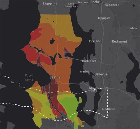 seattle liquefaction map find out which disaster might hit you with this