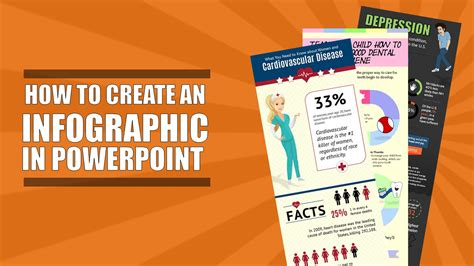 How To Create An Infographic In Powerpoint Part 1 Youtube How To Make On Powerpoint