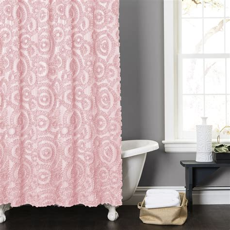 pink shower curtain set pink shower curtain usa page 2