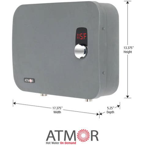 Water Heater Atmor atmor at 910 18tp tankless electric instant water heater