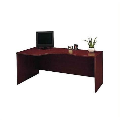 Corner Desk Bookcase Bush Business Series C 4 Corner Desk With Bookcase In Mahogany Bsc038 367
