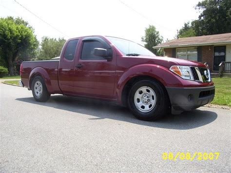nissan frontier lowered lowmaz7 2006 nissan frontier regular cab specs photos