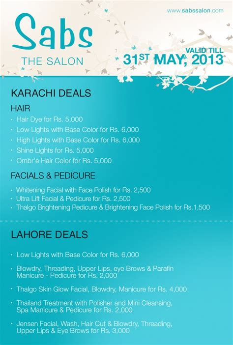 haircut deals karachi sabs salon haircut charges haircuts models ideas