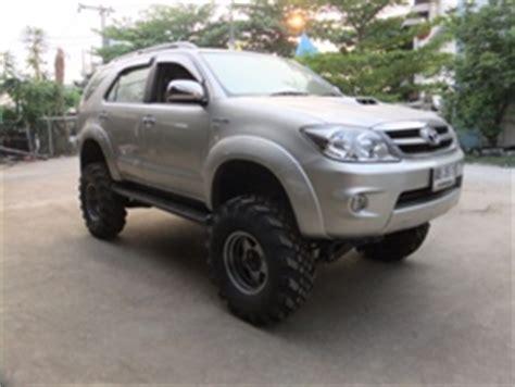Toyota Fortuner Lift Kit Catalog