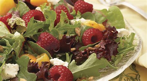 goat cheese salad raspberry goat cheese salad
