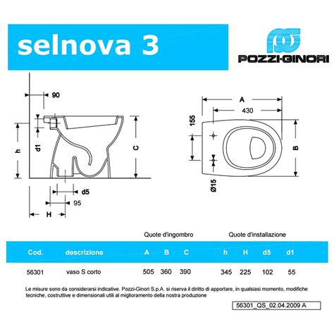 bidet selnova 3 scheda tecnica sanitari da bagno a terra selnova 3 pozzi ginori lavabo