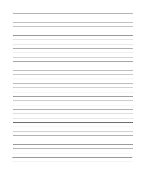 horizontal writing paper horizontal writing paper 28 images raised line papers