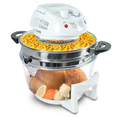 Oven Europa Jet Cook nutrichef pkairfr48 halogen cooking convection oven air fryer infrared cooker white ca