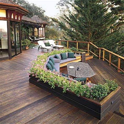This House Privacy Planter by Container Gardens For Deck Privacy 10 Ways To Add