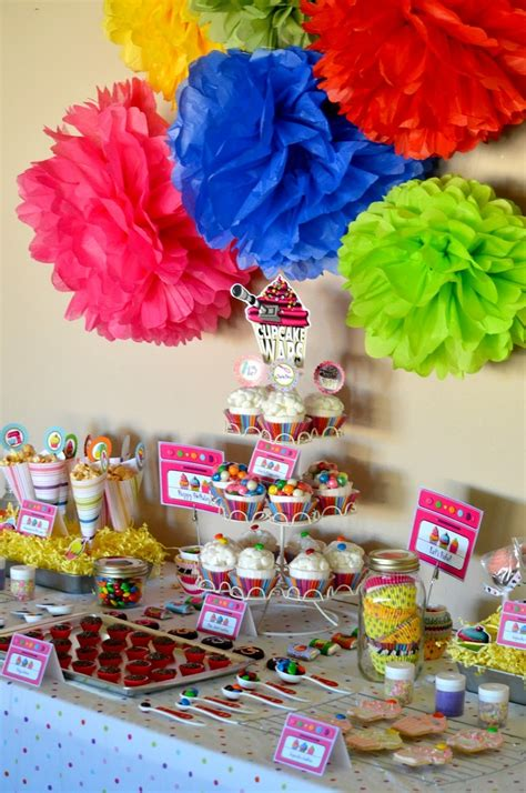 cupcake theme decorations best 25 cupcake wars ideas on princess