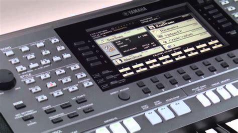Keyboard Yamaha S970 psr s970 s770 record