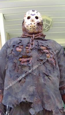 Handmade Costumes For Sale - scary jason voorhees costume from freddy vs
