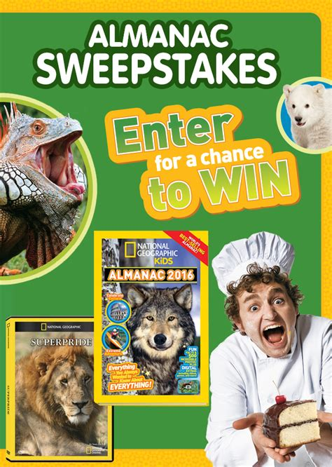 Dvd Sweepstakes - ovation brands team up with national geographic kids almanac