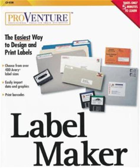 graphic design label making proventure label maker pc cd create custom sizes fields
