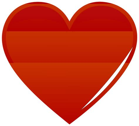 clipart stylish red heart image gallery redheart