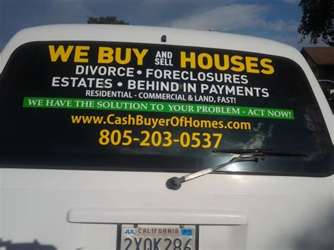 we buy houses bandit signs we buy sell houses for cash