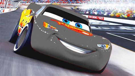 lighting mcqueen race track black lightning mcqueen cars color cars 2 battle race