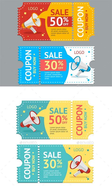 coupon sale vector coupon coupons and business