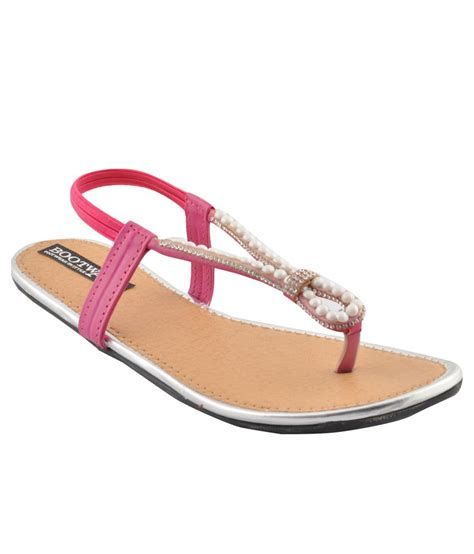 pink flat sandals bootwale pink flat sandals snapdeal price sandals deals