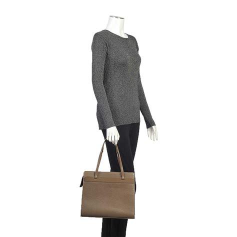 Louis Vuitton Epi Leather Collection by Louis Vuitton Epi Croisette Gm Brown Luxity