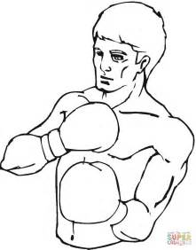 Boxing Coloring Pages To Print Coloring Pages Boxer Coloring Pages
