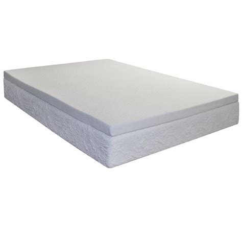 2 In Memory Foam Mattress Topper by Coil Mattress Topper Size With Cool Gel